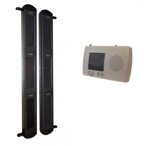 3B-100 Perimeter Alarm with Long Range (900 metre) Wireless Solar Beams & 4-channel Receiver [004-2530]
