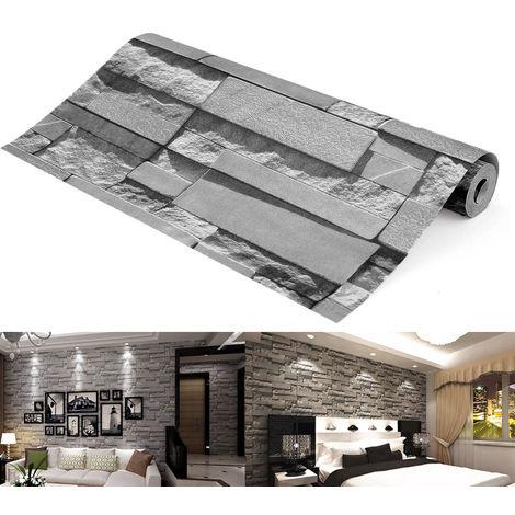 3D Brick Wallpaper Wall Wallpaper For Decoration Sasicare