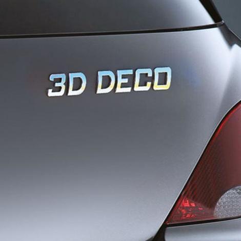 3D deco lettre -D- Generique