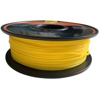 3D Filament 1kg PLA Printer 1,75mm Rolle Spule Drucker gelb Patrone