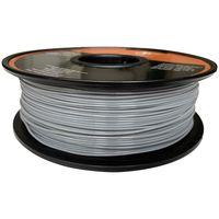 3D Filament 1kg PLA Printer 1,75mm Rolle Spule Drucker grau Patrone