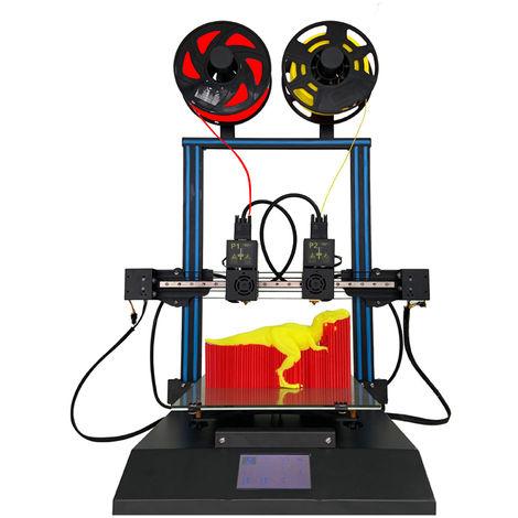 3D Imprimante indépendante à double buse Tenlog TL-D3 Pro