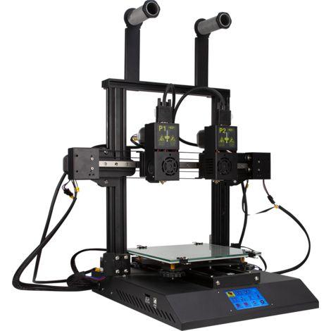 3D Imprimante TENLOG® Hands 2 FDM 220 * 220 * 250 mm Format d'impression avec double buse