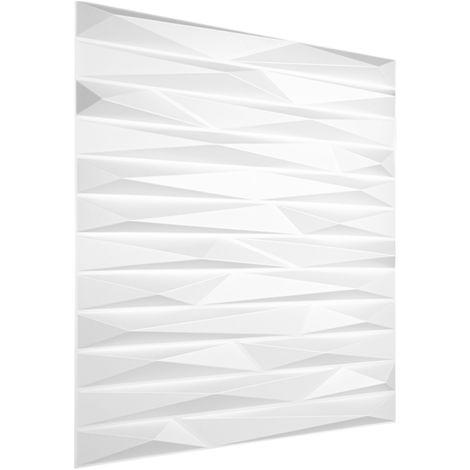 3D Platten Kunststoff | Paneele PVC | Wasser Schlag und Stoßfest | 50x50cm | HD125