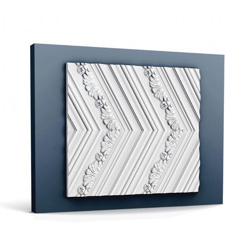 3d revestimiento mural Orac Decor W130 LUXXUS CHEVRON Panel de pared Elemento decorativo diseño atemporal clásico blanco 2 m