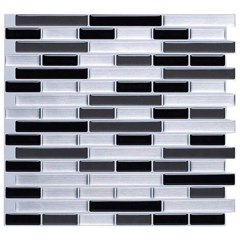 """main image of """"3D Self Adhesive Kitchen Wall Tiles Mosaic Tile Sticker"""""""