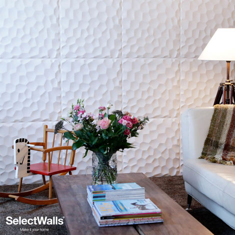 3D Wall Panel Jess 3D Decorative wall Panels 2,5m²