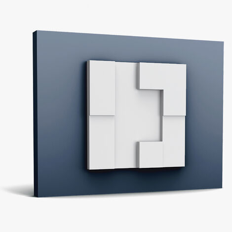 3d wall panel Orac Decor W103 MODERN CUBI Deco element modern white