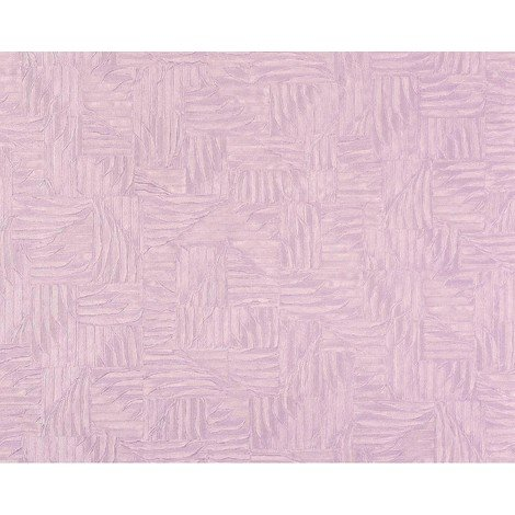 3D wallpaper wall non-woven EDEM 913n-22 embossed basketwork woven fabric pattern silver lilac 10.6 sqm (114 sq ft) XXL roll