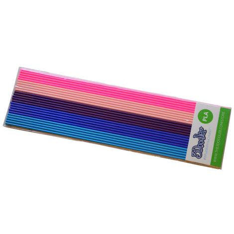 3Doodler Create Mix color PLA pack - BubbleGum