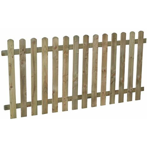 3ft (0.9m) High Heavy Duty Pressure Treated Picket Panel