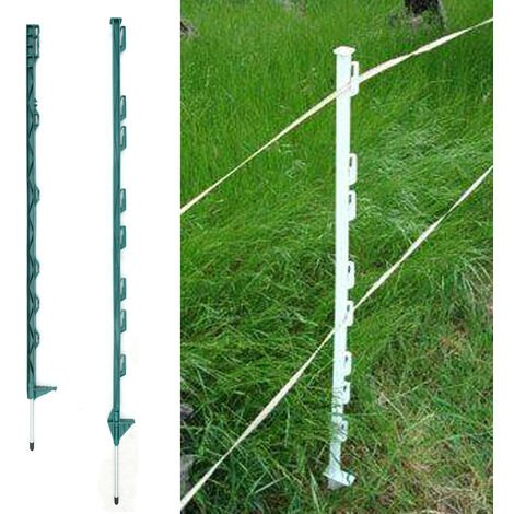 3FT Post Deals Electric Fence Post Poles Horse Paddock 10pcs Home Garden