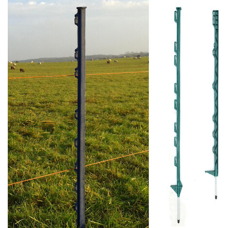 3FT Post Deals Electric Fence Post Poles Horse Paddock 20pcs Home Garden