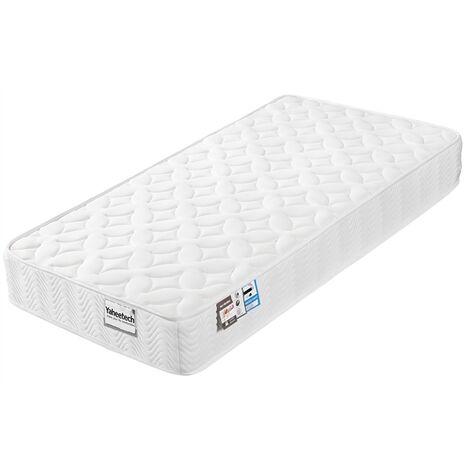 3FT Single Mattress Comfort Foam 9-Zone Orthopedic Pocket Sprung Breathable Knitting Fabric Top Medium Firm Single