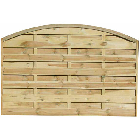 3ft6 (1.1m) High Forest Convex Dalebrook Fence Panel