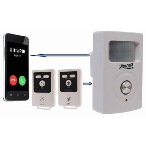 3G UltraPIR GSM Alarm & 2 x Remote Controls.