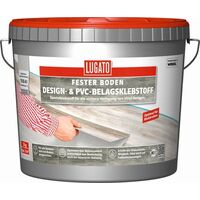 3kg Lugato Design- & PVC-Belagsklebstoff