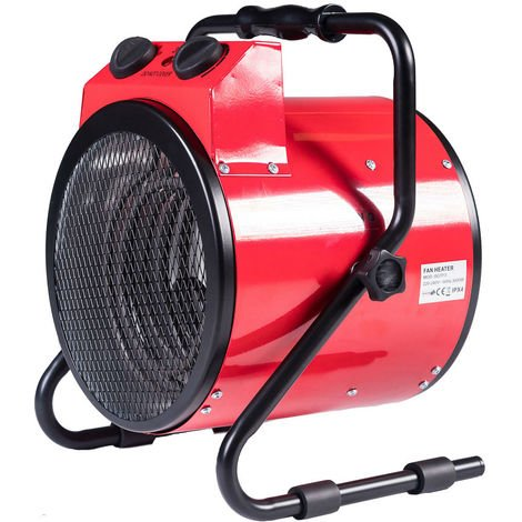 3KW Calentador Redondo Inclinable 2580 Kcal 10200BTU 250/1500/3000W
