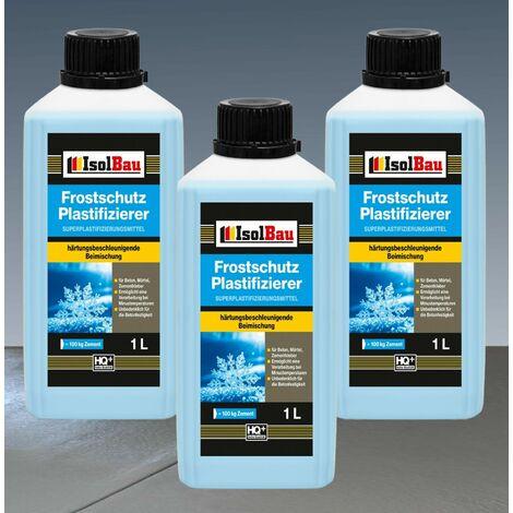 3L Beton-Zusatzmittel Frostschutz Plastifizierer Betonverflüssiger