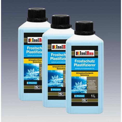 3L Beton-Zusatzmittel Frostschutz Plastifizierer Betonverflüssiger Verflüssiger