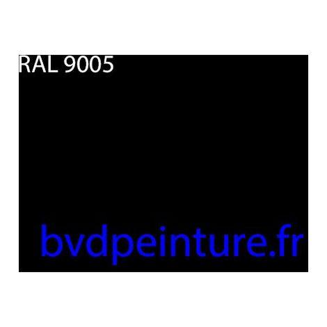 3l noir 2k finition mat direct ral 9005 + 1l5 durcisseur + 1l diluant carrosserie auto
