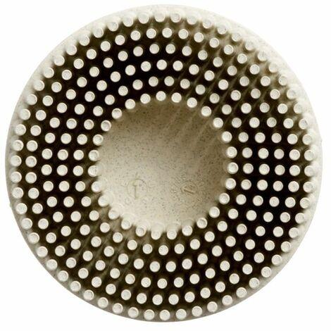 "main image of ""3M 07528 50MM Scotch-Brite Roloc Bristle Disc, White P120 RD-ZM"""