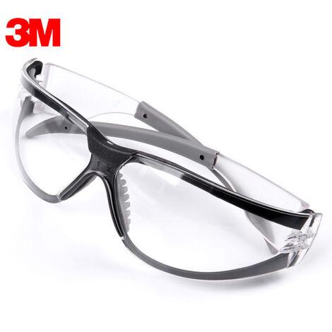 3M 11394 Gafas de seguridad, anti-vaho gafas a prueba de viento Polvo Antisand