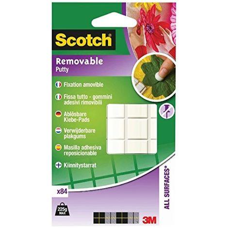 3M 301008C36 Pastilles adhésives Scotch® transparent (L x l) 10 mm x 8 mm 84 pc(s) Q116412