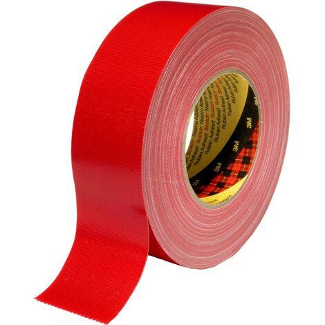 3M 389R50 Ruban adhésif toilé Scotch® rouge (L x l) 50 m x 50 mm 1 pc(s)