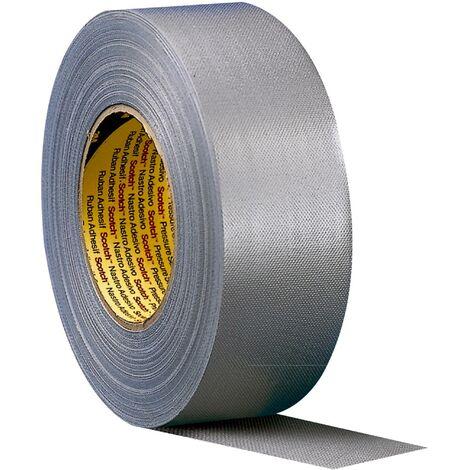 3M 389W50 Ruban adhésif toilé Scotch® blanc (L x l) 50 m x 50 mm 1 pc(s) Q137432