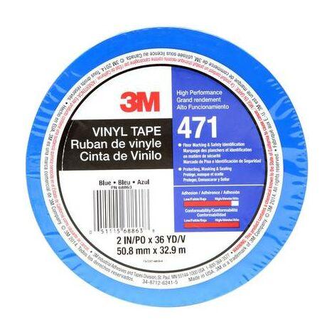 3M 471IW-BL50-D Ruban adhésif PVC bleu (L x l) 33 m x 50 mm 1 pc(s)