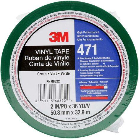 3M 471IW-GR50-D Ruban adhésif PVC vert (L x l) 33 m x 50 mm 1 pc(s)