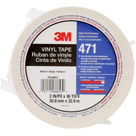 3M 471IW-W50-D Ruban adhésif PVC blanc (L x l) 33 m x 50 mm 1 pc(s)