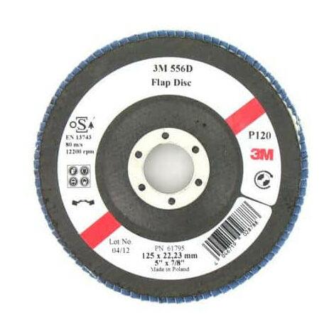 3M 556D disk bulging with grain slats 120 x 125mm 10