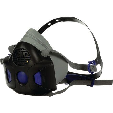 3M 7100171980 Atemschutzhalbmaske HF-802SD – Serie HF 800 EN140 ohne Filter M