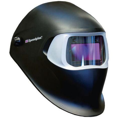 3M 751120 Speedglas 100 Capuchon de soudure noir avec filtre de soudure 100V - ADF couleur 8-12