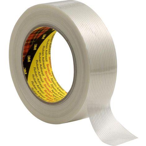 3M 8956 587750 Ruban adhésif à filament Scotch® transparent (L x l) 50 m x 19 mm 1 pc(s)