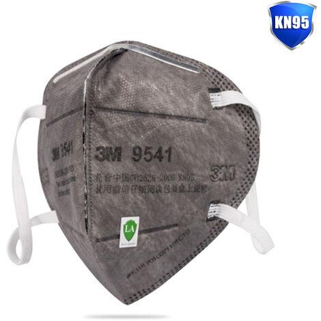 3M 9541 1Pcs Respirateur 5 Plis Kn95 Masque Protection Respiratoire Protection Respiratoire Avec Earloop