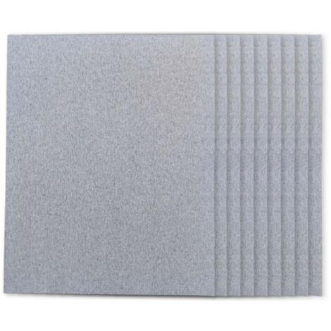 Piranha 115mm x 140mm 150 Grit Sanding Pad Sheets x10