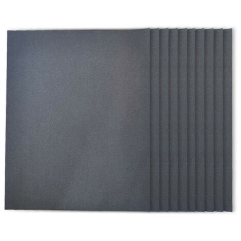 3M abrasive sheet 734 water 230x280 Grit 400 x 50