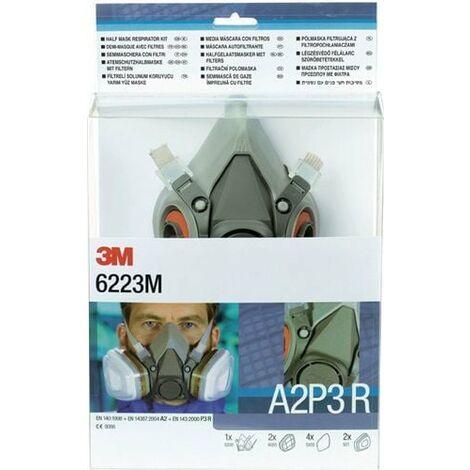 3M Atemschutzhalbmaskenset (EN 140 / mit Filter) - 7000061552