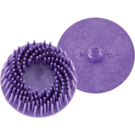 3M Bristle Disc ROLOC 76,2mm K 50 grün