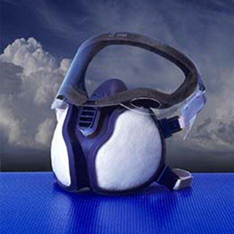 3M Demi-masques respiratoires à filtres intégrés série 4000