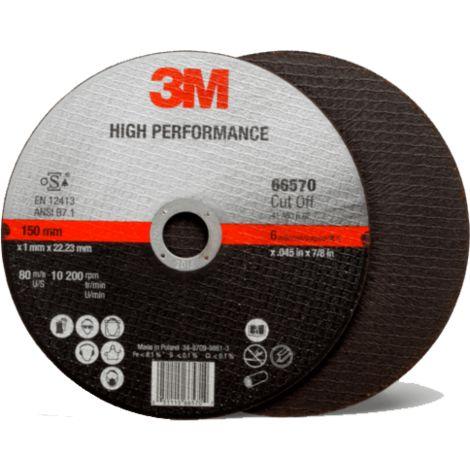 3M - Disque 230 x 2 mm à tronçonner l'acier - 1209514