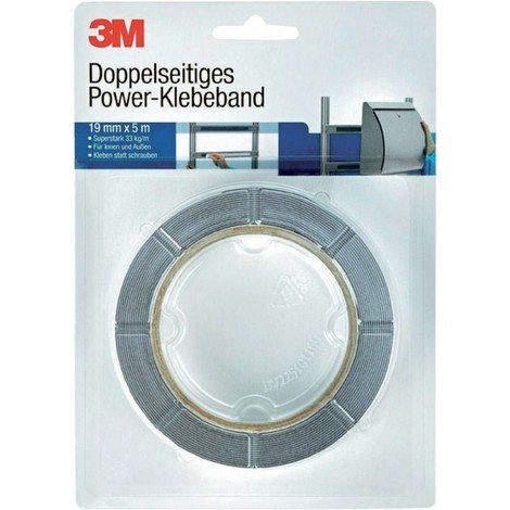 3M double. bande d'alimentation, 19mm x 5m