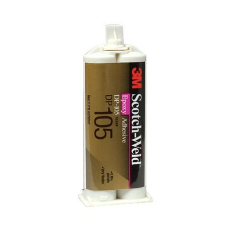 3M DP105 Scotchweld Clear Epoxy Adhesive 50ml