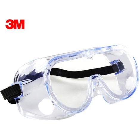 3M, Gafas de seguridad, Gafas protectoras, Gafas antiniebla con diadema, 1 pieza
