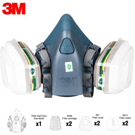 3M Gas Mask Set, 6 # (beim Kauf bitte das entsprechende Modell beachten)