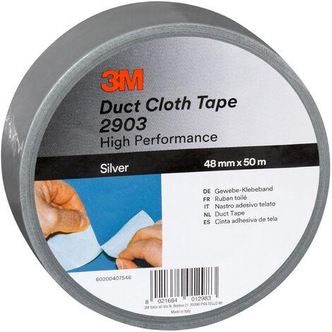3M Insulation Tape 48 mm x 50 m Silver NE550660969