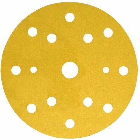3M Lija Circular Hookit 255P 150 Adhesivo 15 Agujeros Gr.320
